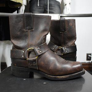 Frye harness boots 8.5 M vintage motorcycle usa